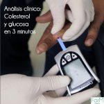 análisis clínico en Pamplona: colesterol y glucosa