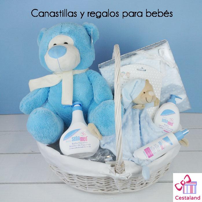 canastillas y regalos para bebés en pamplona