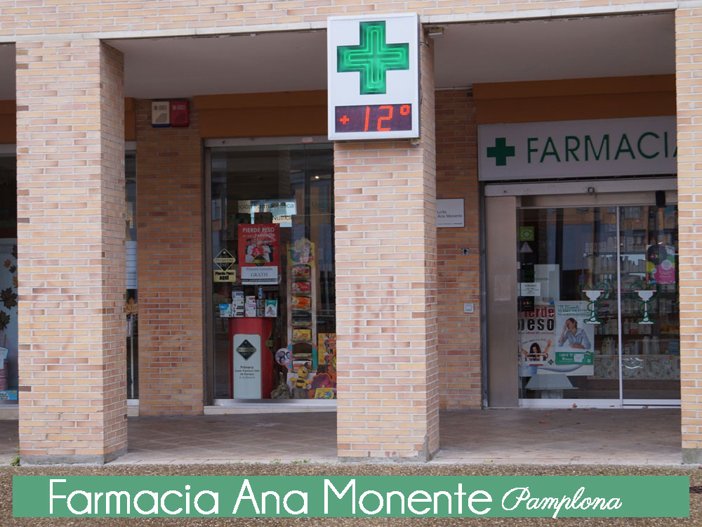 farmacia en Pamplona Ana Monente