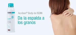 tratamiento del acné en la espalda
