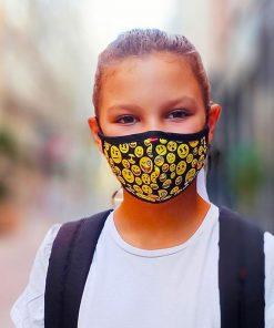 mascarilla emojis niños 6 a 15 años