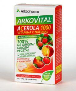 Vitamina C natural acerola