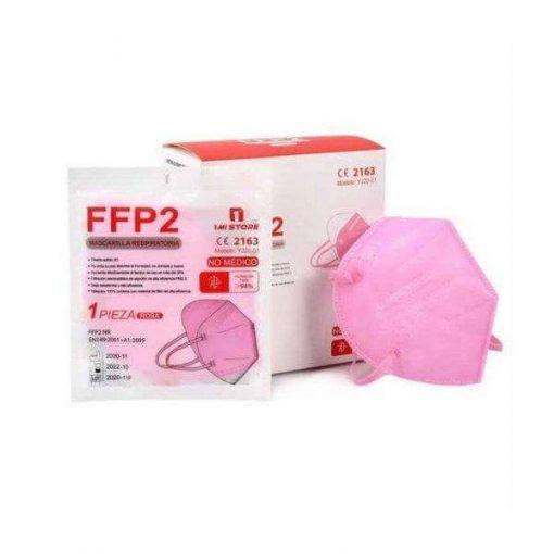 comprar mascarilla ffp2 rosa