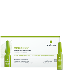 tratamiento intensivo piel ampollas factor G sesderma